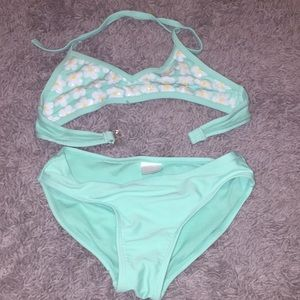 Girls swim suit size medium
